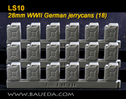 LS10 - 28mm WWII German jerrycans (18)