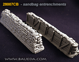 30mm high entrenchment section
