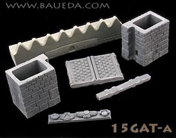 15mm wall gate