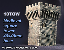 10mm Towers for 15mm games