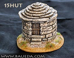 15mm small stone hut