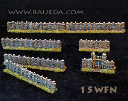 15WFN - 15mm wattle fence