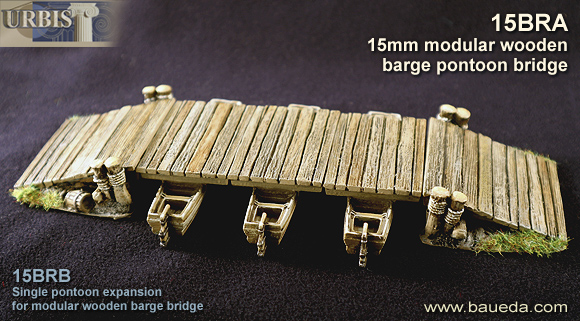 15mm modular rural barge bridge!