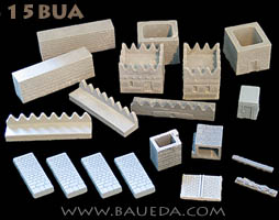15mm Ancient Near East Walled City Set